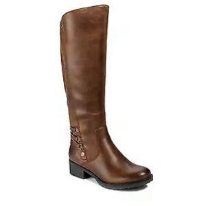 Baretraps Ornella brown tall riding boots 7.5 M